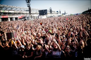 Rock Am Ring Crowd. Photo: Elke Teurlinckx